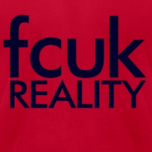 Fcuk Reality Layer Cake T-Shirts - Men's T-Shirt by American Apparel