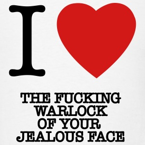 the fucking warlock of our jealous face Charlie Sheen t-shirts - Men's T-Shirt