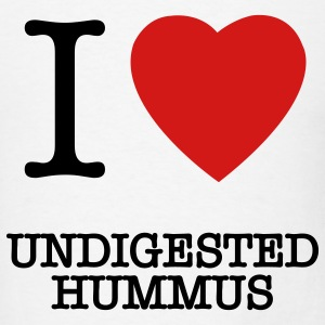 undigested hummus Charlie Sheen t-shirts - Men's T-Shirt