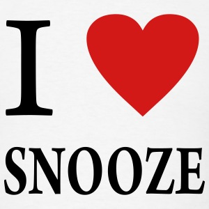 I Heart Snooze - Men's T-Shirt
