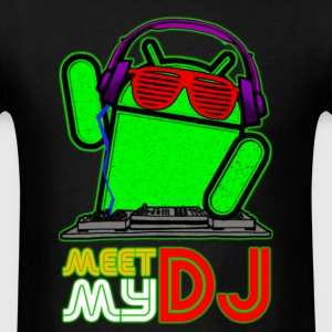 Android_DJ_Men_Standart - Men's T-Shirt