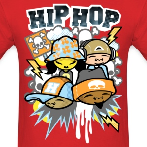 Colors of hip_hop T-Shirts - Men's T-Shirt