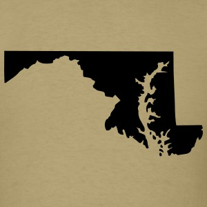 State of Maryland T-Shirts - Men's T-Shirt