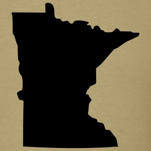 State of Minnesota T-Shirts - Men's T-Shirt