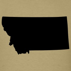 State of Montana T-Shirts