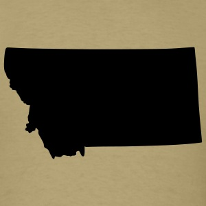 State of Montana T-Shirts - Men's T-Shirt