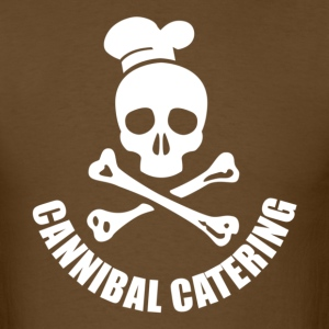 CANNIBAL CATERING white T-Shirts - Men's T-Shirt
