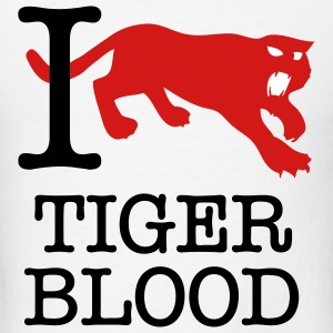 Tigerblood Charlie Sheen t-shirts T-Shirts - Men's T-Shirt