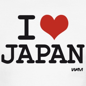 I love JAPAN T-Shirts - Men's Ringer T-Shirt