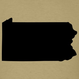 State of Pennsylvania T-Shirts - Men's T-Shirt