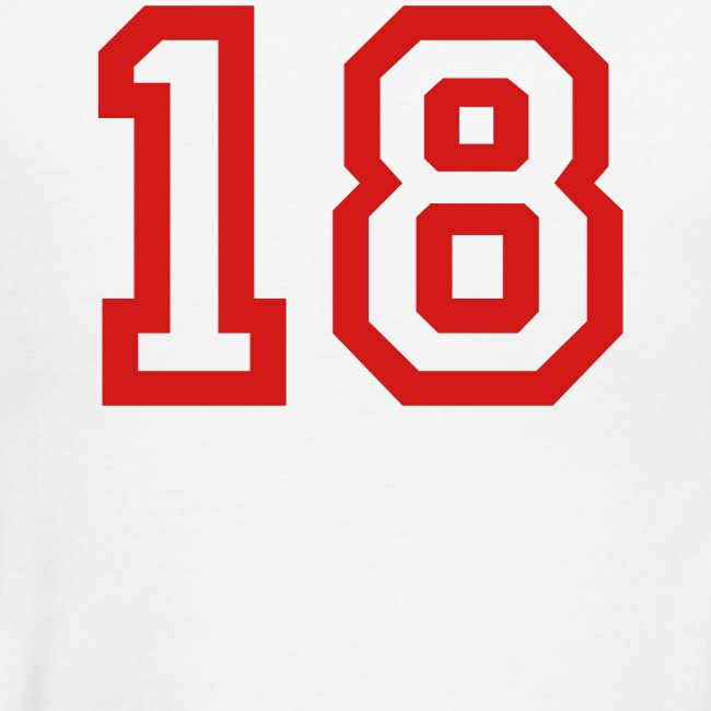 Sports number 18
