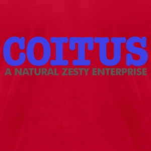Coitus Natural Zesty T-Shirts - Men's T-Shirt by American Apparel