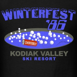 Winterfest 86 Hot Tub T-Shirts - Men's T-Shirt