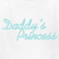 Daddy's Princess :: Cute Girls Graphic tee