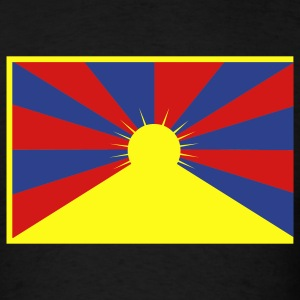 Flag of Tibet T-Shirts - Men's T-Shirt