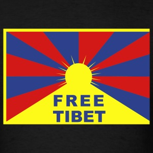 Free Tibet Flag T-Shirts - Men's T-Shirt