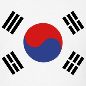 Flag of South Korea T-Shirts - Men's T-Shirt