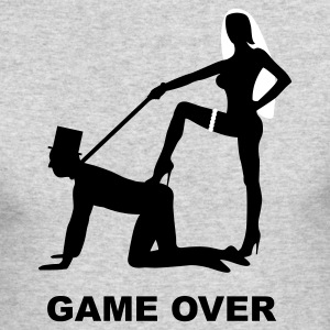 game over marriage matrimory wedlock fog haze double heiht heyday nuptials wedding zenith dominatrix lash whip slave bondman sex Long Sleeve Shirts - Men's Long Sleeve T-Shirt by Next Level