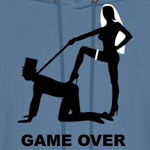 game over marriage matrimory wedlock fog haze double heiht heyday nuptials wedding zenith dominatrix lash whip slave bondman sex Hoodies - Men's Hoodie