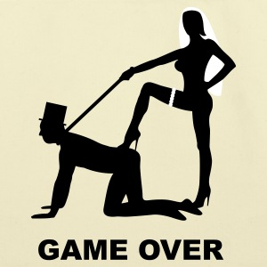 game over marriage matrimory wedlock fog haze double heiht heyday nuptials wedding zenith dominatrix lash whip slave bondman sex Bags  - Eco-Friendly Cotton Tote