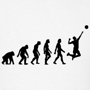 Evolution Volleyball (1c) T-Shirts - Men's T-Shirt