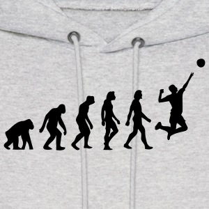 Evolution Volleyball (1c) Hoodies - Men's Hoodie