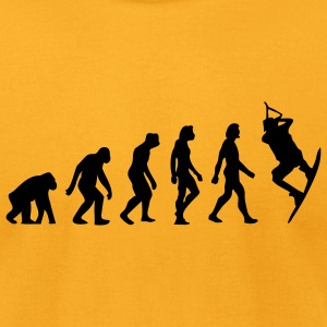 Evolution Kite Surfing (1c) T-Shirts - Men's T-Shirt by American Apparel