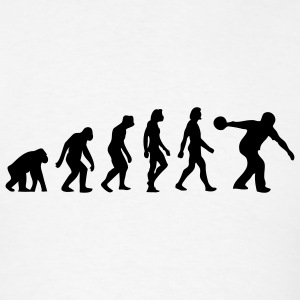 Evolution Bowling (1c) T-Shirts - Men's T-Shirt
