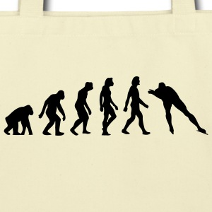 Evolution Skating (1c) Bags  - Eco-Friendly Cotton Tote