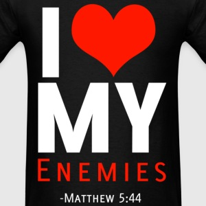 I Heart Enemies (W) - Men's T-Shirt
