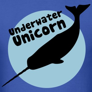 Underwater Unicorn Shirt - Men's T-Shirt