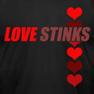 Love Stinks - Men's T-Shirt by American Apparel