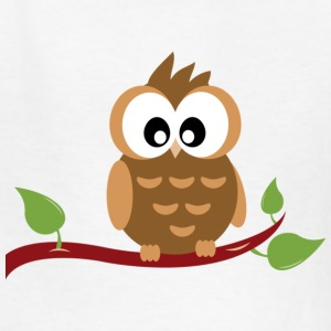 Cute Owl Kids T-Shirt - Kids' T-Shirt