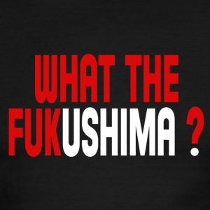 What the Fukushima ? T-Shirts - Men's Ringer T-Shirt