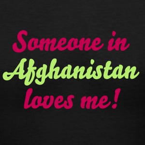 Military, Marine, Love, Afghanistan - Women's V-Neck T-Shirt