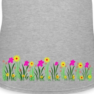 Pretty spring Garden - Women's V-Neck T-Shirt
