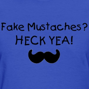 Fake Mustaches - Women's T-Shirt