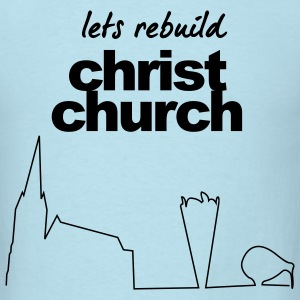 Christchurch earthquake relief t-shirts T-Shirts - Men's T-Shirt