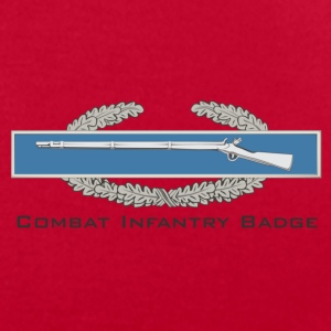 Combat Infantry Badge (CIB) - Men's T-Shirt by American Apparel