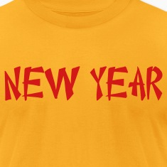 new year Chinese font T-Shirts