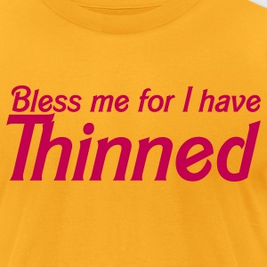 bless me for i have thinned T-Shirts - Men's T-Shirt by American Apparel