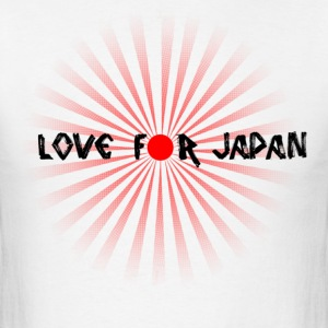 Love For Japan - Men's T-Shirt