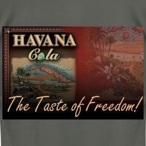 Havana Cola The Taste of Freedom! - Men's T-Shirt by American Apparel