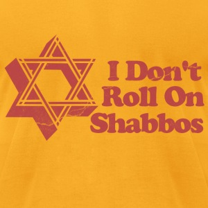Roll Shabbos Dude Walter T-Shirts - Men's T-Shirt by American Apparel
