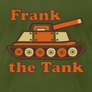 Frank the Tank T-Shirts - Men's T-Shirt by American Apparel