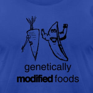 genetically modified foods - Men's T-Shirt by American Apparel