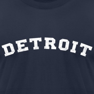 Detroit T-Shirts - Men's T-Shirt by American Apparel