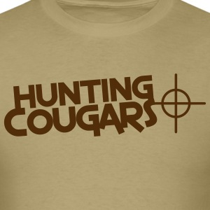 hunting cougars with target sight T-Shirts - Men's T-Shirt