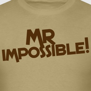 mr impossible! T-Shirts - Men's T-Shirt