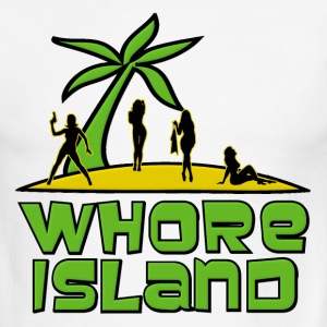 Whore Island Archer T-Shirts - Men's Ringer T-Shirt